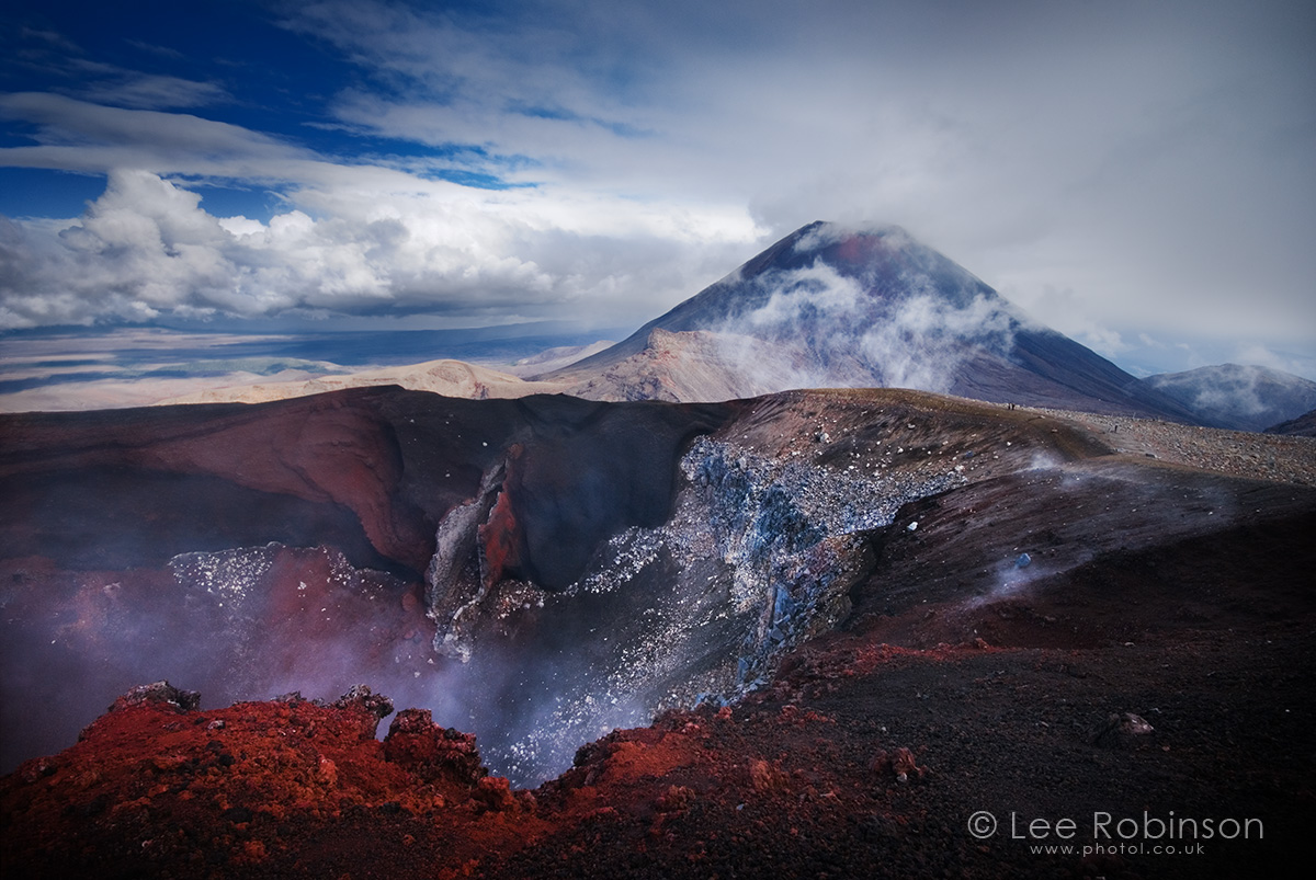 Mount Ngauruhoe, (Mount Doom), North Island, New Zealand.