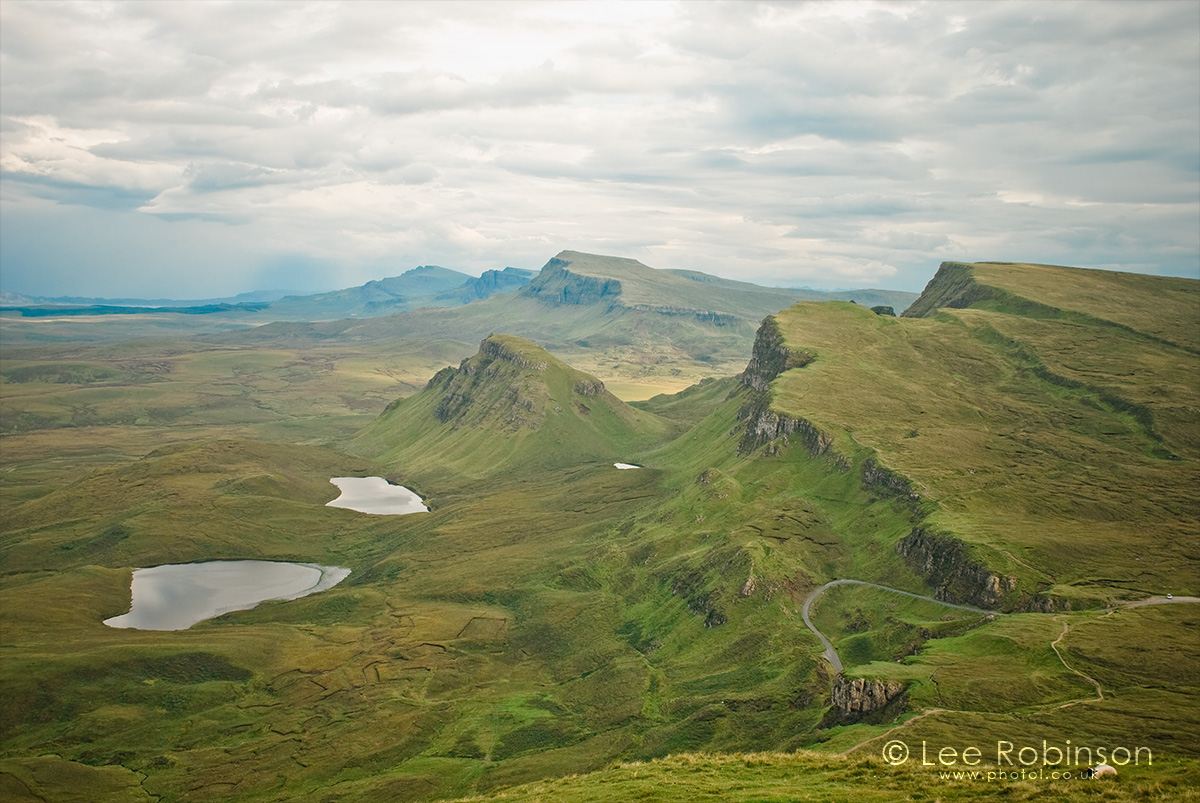 Lee Robinson landscape photography, View of the Trotternish Ridge from the Quiraing, Isle of Skye, Scotland